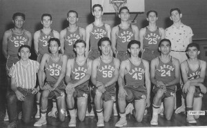 2013-1956 Laredo Basketbal Team